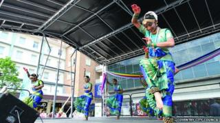 Dancers in Coventry