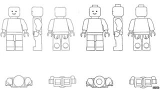 Diagram of Lego figures