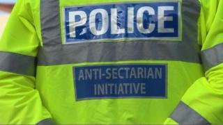 Anti-sectarianism police vest