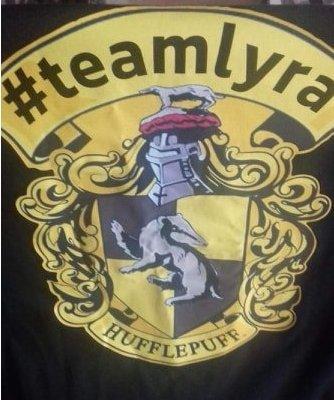 Team Lyra Hufflepuff T-shirt