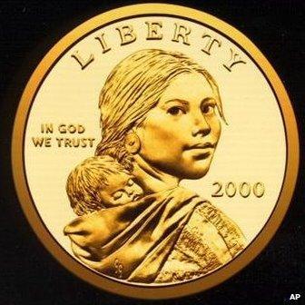 Native American Sacagawea