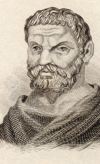 The philosopher Thales of Miletus