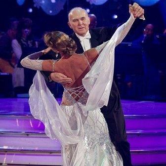 Vince Cable appearing on Strictly Christmas special
