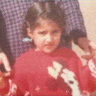 Fadak as a child