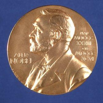 A Nobel Prize winners' medal
