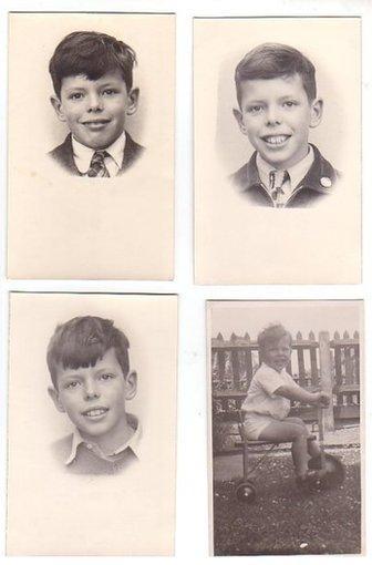 Tony May as a boy