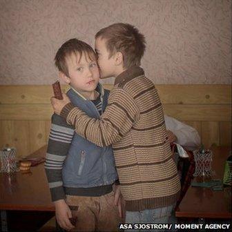 Boys celebrate birthday