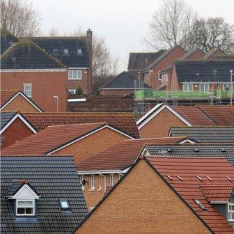 Hamilton housing development, in Leicester