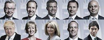 Tory leadership candidates