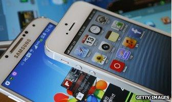 iPhone 5 and Galaxy S4