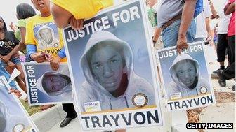 Trayvon Martin demonstration
