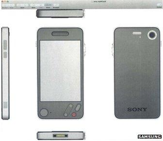 Samsung court filing of Apple designs