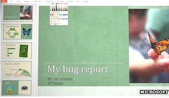 PowerPoint 2013 screenshot