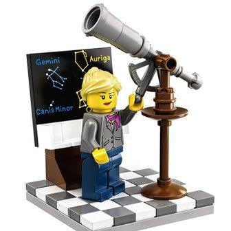 The Lego female astronomer