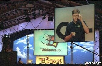 Bill Gates and Windows 95