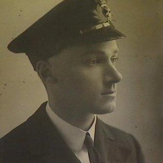 Cornish sailor Harry Symons