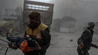 الغوطة الشرقية .. جهنم على الأرض