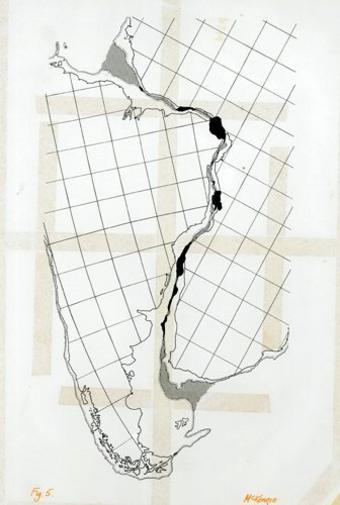 Mapa (Foto: Sociedad de Geología, Archivo McKenzie)