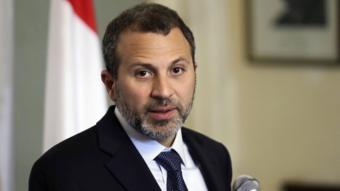 جبران باسيل، وزير الخارجية اللبناني