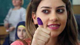 لبنانية تنتخب