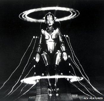 Female robot from Fritz Lang's 1927 film Metropolis