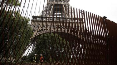 New security features at the Eiffel Tower June 2018