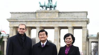 Chủ tịch Trương Tấn Sang và phu nhân