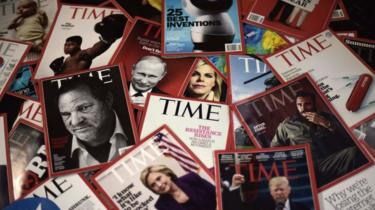 Time magazine covers