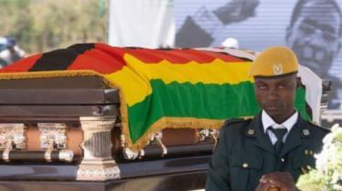 Bwana Mugabe yapfuye ku itariki ya 6 y'uku kwezi kwa cyenda afite imyaka 95