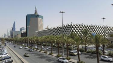 Quang cảnh thủ đô Riyadh, Ả Rập Saudi.