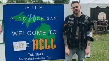 YouTuber Elijah Daniel welcomes you to Gay Hell