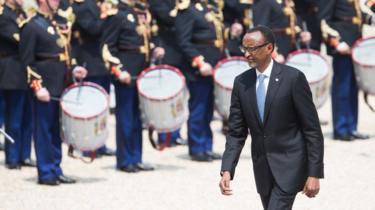 Rwanda's President Paul Kagame