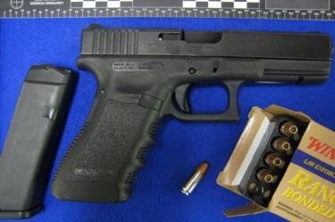 Glock pistol and ammunition