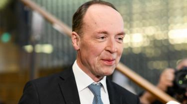 Jussi Halla-aho, Finns Party leader, 14 April 2019