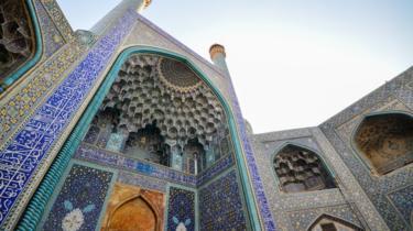 ساحة نقش جهان في مدينة أصفهان