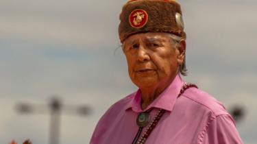 Elderly Navajo