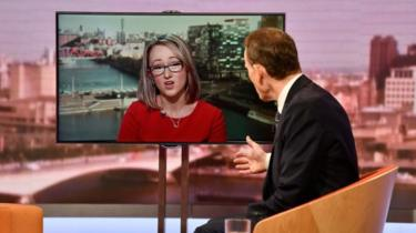 Rebecca Long-Bailey on Marr