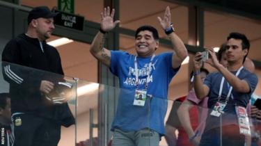 Diego Maradona, 59, atasalia kuwa kocha wa timu ya Gimnasia Esgrima