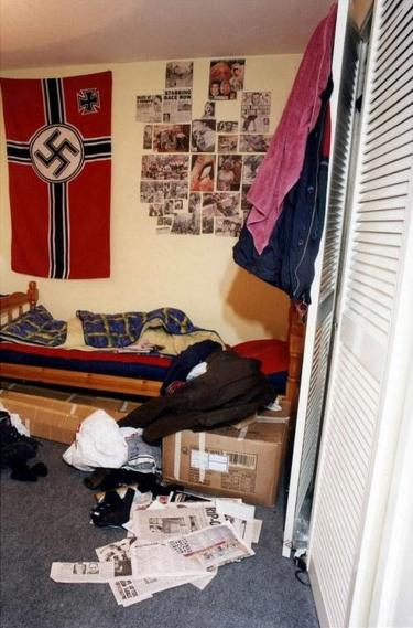 David Copeland's bedroom