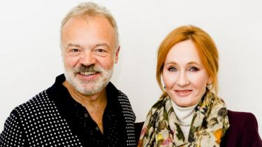 JK Rowling with Graham Norton