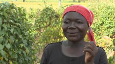 Cecilia John, a farmer