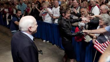 Mrs Palin stumped for McCain in 2010 during his senate re-election campaign