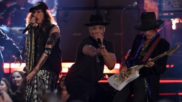 Aerosmith and Run DMC