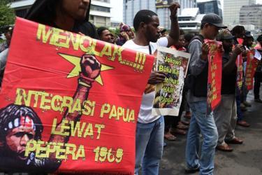 Demo Mahasiswa Papua