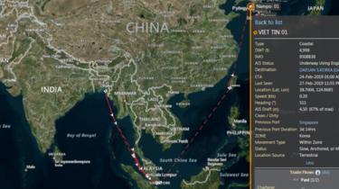 Việt Nam, Hàn Quốc, Liên Hiệp Quốc, cấm vận, dầu