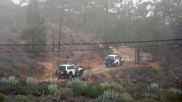 Police search near Adeje, 24 Apr 19