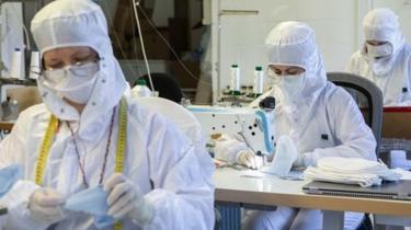 perusahaan masker di Italia.