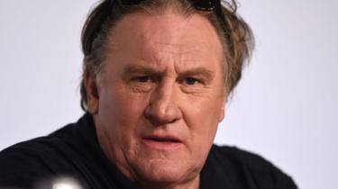 Gérard Depardieu at the Cannes Film Festival in 2015
