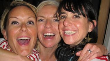 Vicky, Nicola and Janet