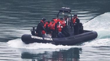 Border Force officials detained 12 adult migrants on Friday